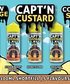 Capt'n Custard Range