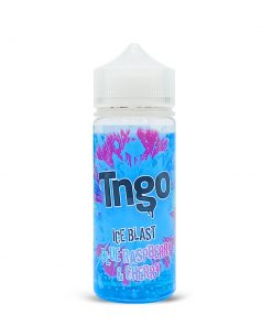 blue raspberry & cherry ice blast by tngo now in stock at www.apevapes.co.uk