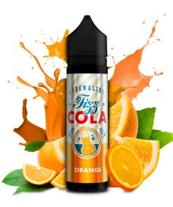 Adrenaline Fizzy Cola - Orange 50ml now in stock ape vapes