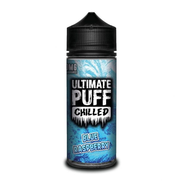 blue raspberry chilled by ultimate puff now in stock