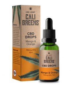 Cali Greens oral CBD Drops now in stock