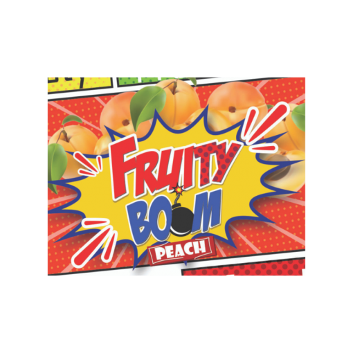 Fruity Boom Eliquid now in stock www.apevapes.co.uk