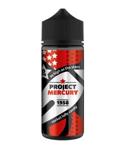 Project Mercury eliquid now in stock at Ape Vapes