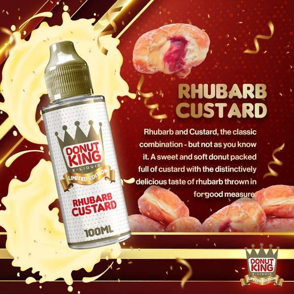 Rhubarb & Custard Donut King Limited Edition